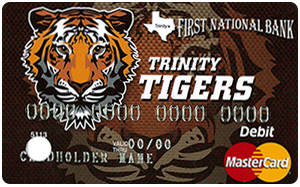 Tiger Debit Card image